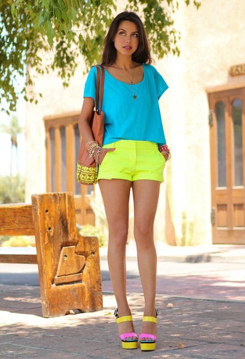 Mùa hè rực rỡ với gam màu neon - ảnh 9
