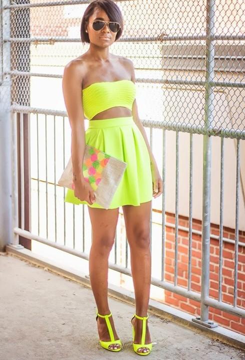 Mùa hè rực rỡ với gam màu neon - ảnh 8