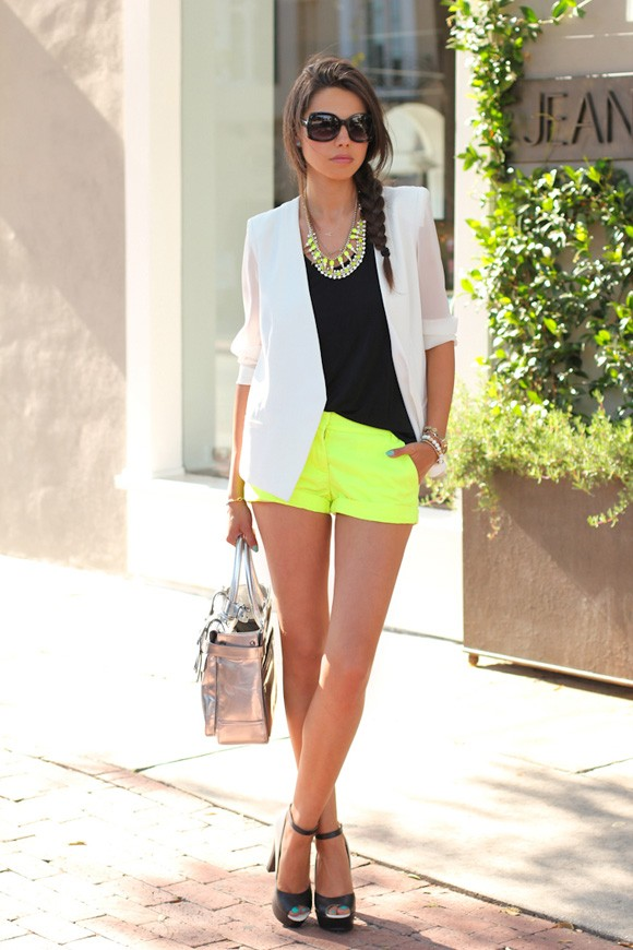 Mùa hè rực rỡ với gam màu neon - ảnh 5