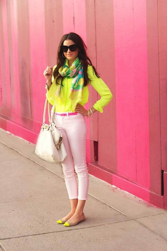 Mùa hè rực rỡ với gam màu neon - ảnh 3