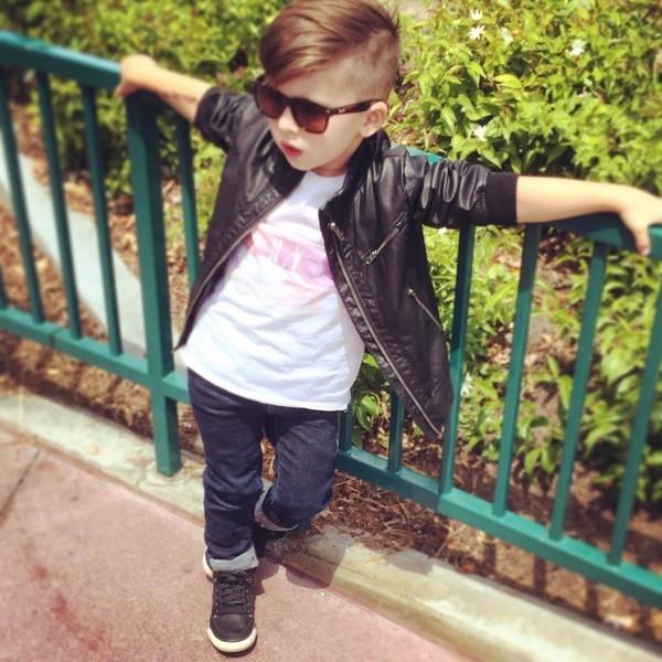 Cậu bé 4 tuổi sành điệu như hot boy - ảnh 8