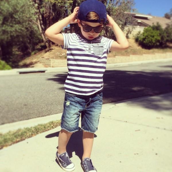 Cậu bé 4 tuổi sành điệu như hot boy - ảnh 9