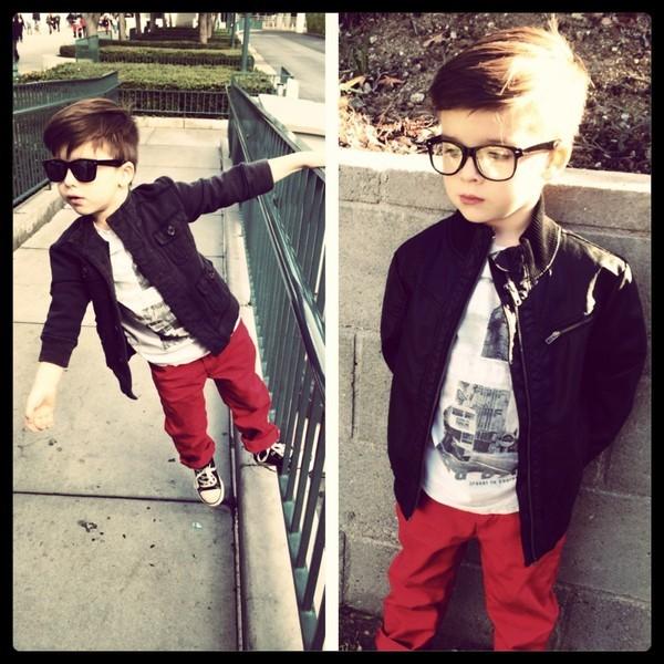 Cậu bé 4 tuổi sành điệu như hot boy - ảnh 11