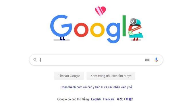 Google khởi xướng tuần lễ tri ân người tuyến đầu chống dịch COVID-19 - ảnh 1