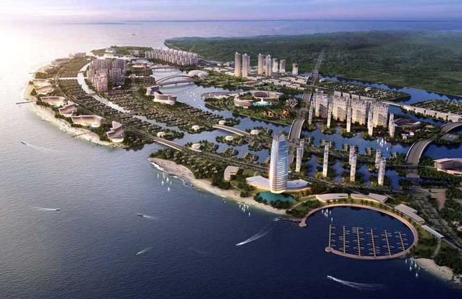 Duyệt nhiệm vụ quy hoạch Khu đô thị lấn biển Cần Giờ-TPHCM gần 3.000 ha - ảnh 1