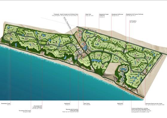 Dự án gần 1.000ha xin kéo dài thời gian giao đất thêm 12 năm