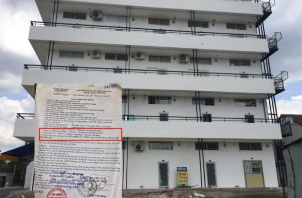 Chung cư mini sai phép ngang nhiên tồn tại ngay trung tâm quận Thủ Đức - ảnh 1