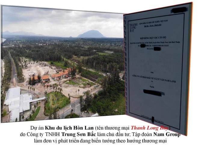 Dự án Thanh Long Bay: Chưa được chấp thuận phê duyệt quy hoạch - ảnh 2