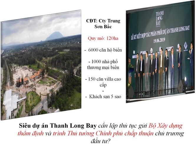 Dự án Thanh Long Bay: Chưa được chấp thuận phê duyệt quy hoạch - ảnh 1