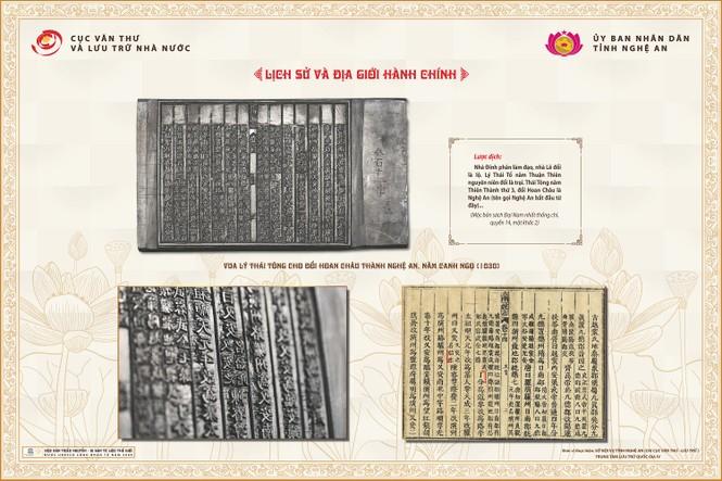 Hé lộ nhiều sử liệu quí về Nghệ An trong Mộc bản triều Nguyễn - ảnh 3