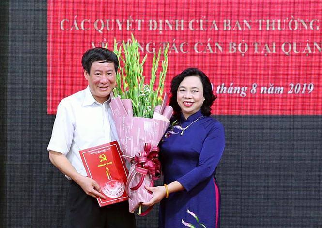 Hà Nội: Giám đốc Sở Tài chính làm Bí thư quận Đống Đa - ảnh 2