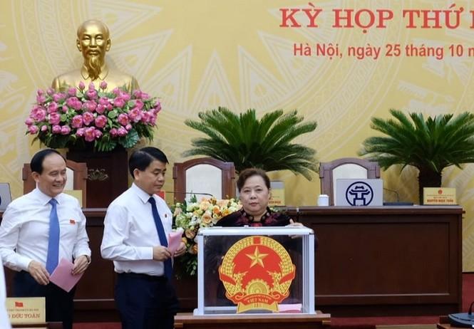 Miễn nhiệm 6 Ủy viên UBND thành phố Hà Nội - ảnh 1