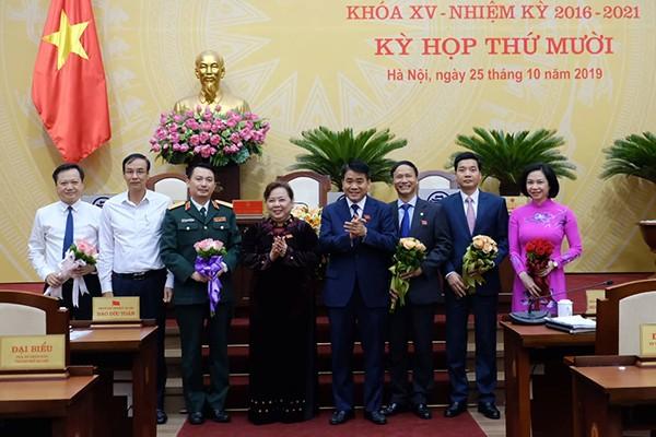 Miễn nhiệm 6 Ủy viên UBND thành phố Hà Nội - ảnh 2