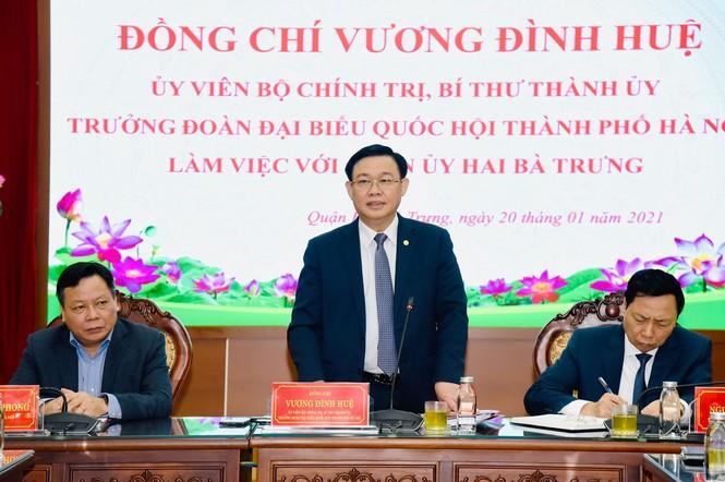 Bí thư Hà Nội: Nghiên cứu tổ chức phố đi bộ khu vực hồ Thiền Quang - ảnh 1