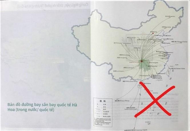 Dùng ấn phẩm có 'đường lưỡi bò', Saigontourist bị phạt 50 triệu - ảnh 1