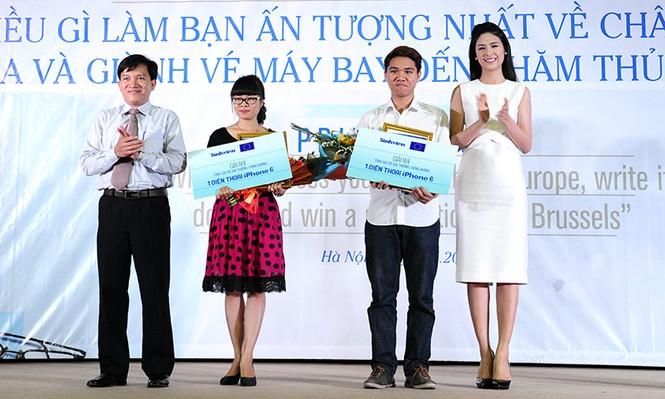 Nữ sinh Điện ảnh giành giải nhất cuộc thi ấn tượng EU - ảnh 2