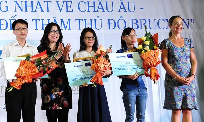 Nữ sinh Điện ảnh giành giải nhất cuộc thi ấn tượng EU - ảnh 3