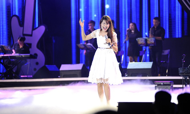 Nữ sinh Thái Nguyên đoạt giải nhất Hành trình Bài ca sinh viên - ảnh 6