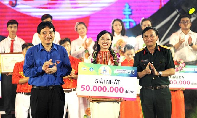 Nữ sinh Thái Nguyên đoạt giải nhất Hành trình Bài ca sinh viên - ảnh 10