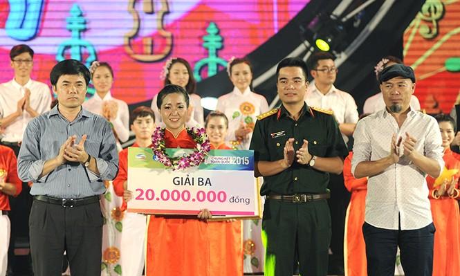 Nữ sinh Thái Nguyên đoạt giải nhất Hành trình Bài ca sinh viên - ảnh 12