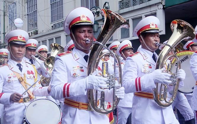 Oai phong khối Quân nhạc trong ngày Tết Độc lập - ảnh 5