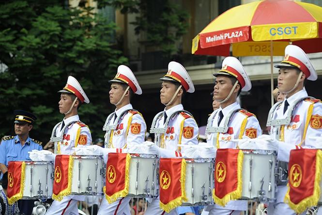 Oai phong khối Quân nhạc trong ngày Tết Độc lập - ảnh 4