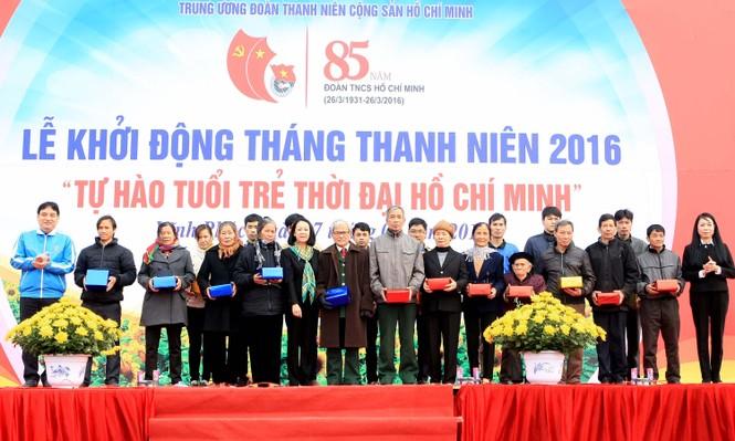 3.000 ĐVTN dự lễ khởi động Tháng thanh niên 2016 - ảnh 6