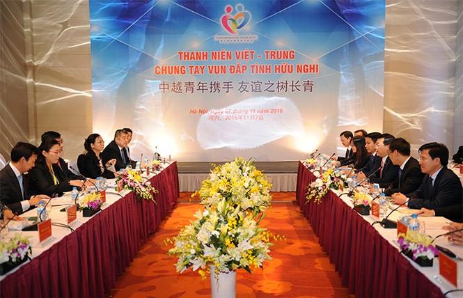 Tăng cường hoạt động giao lưu hợp tác thanh niên Việt - Trung - ảnh 1