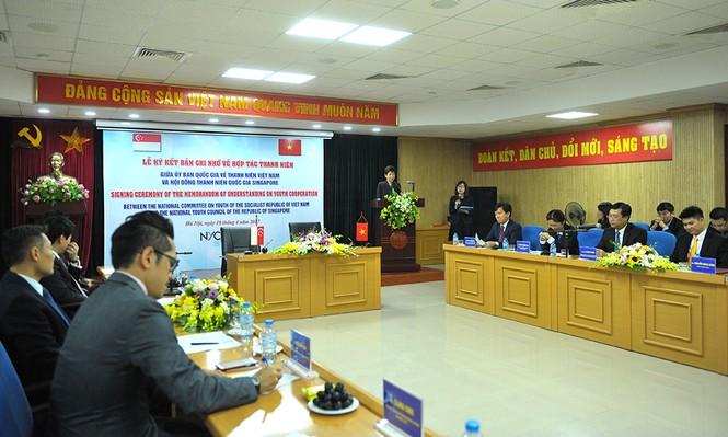 Nhiều kế hoạch quan trọng về thanh niên được Việt Nam – Singapore ký kết - ảnh 3