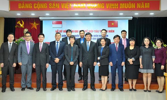 Nhiều kế hoạch quan trọng về thanh niên được Việt Nam – Singapore ký kết - ảnh 5
