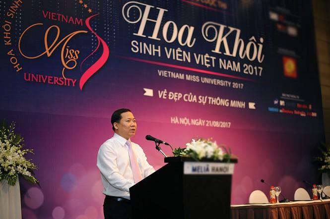 Phát động cuộc thi Hoa khôi Sinh Viên Việt Nam 2017 - ảnh 1