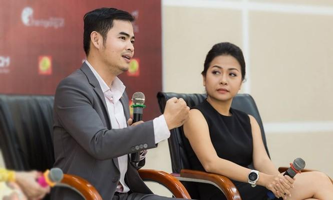 Thí sinh Hoa khôi Sinh viên Việt Nam 2017 giao lưu khởi nghiệp với doanh nhân trẻ - ảnh 2