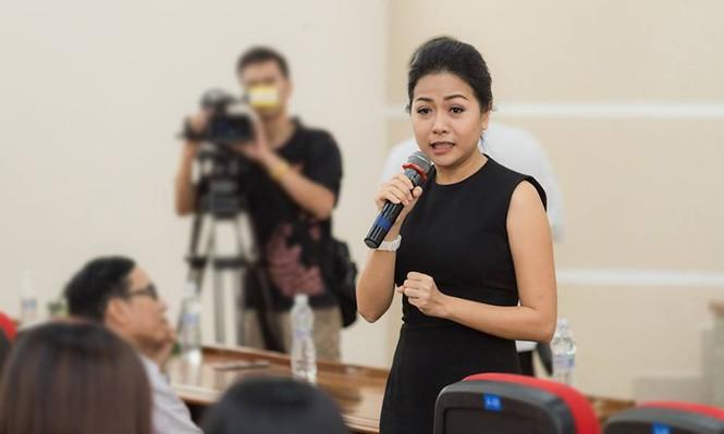 Thí sinh Hoa khôi Sinh viên Việt Nam 2017 giao lưu khởi nghiệp với doanh nhân trẻ - ảnh 4