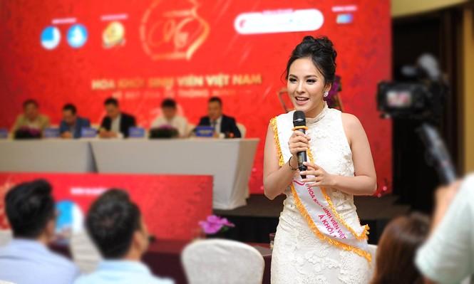 Ngắm dàn Á khôi tụ hội trong lễ phát động 'Hoa khôi Sinh viên Việt Nam - ảnh 7
