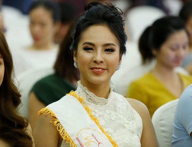Ngắm dàn Á khôi tụ hội trong lễ phát động 'Hoa khôi Sinh viên Việt Nam - ảnh 6