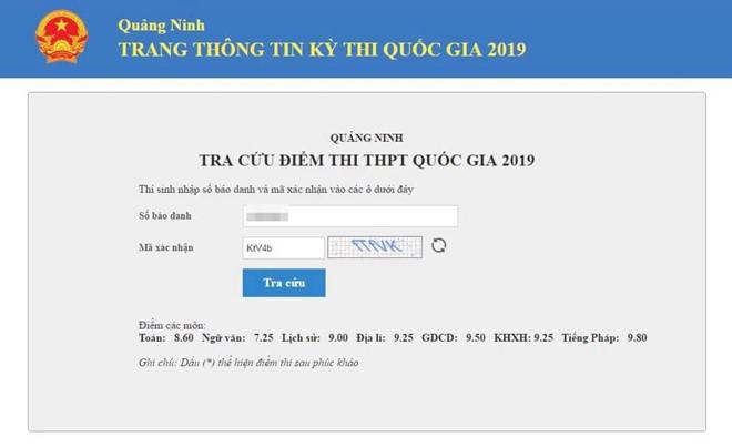 Ấn tượng điểm thi THPT Quốc gia của quán quân Olympia Nguyễn Hoàng Cường - ảnh 1