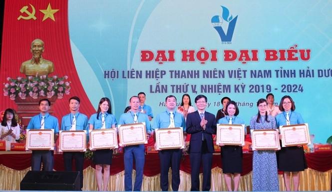 Anh Nguyễn Hồng Sáng tái cử làm Chủ tịch Hội LHTN Việt Nam tỉnh Hải Dương - ảnh 2
