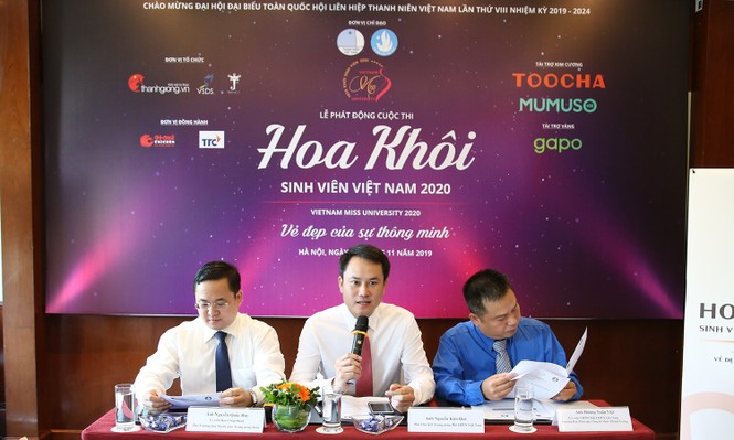 Hội tụ nhan sắc lễ phát động cuộc thi Hoa khôi Sinh viên Việt Nam 2020 - ảnh 1