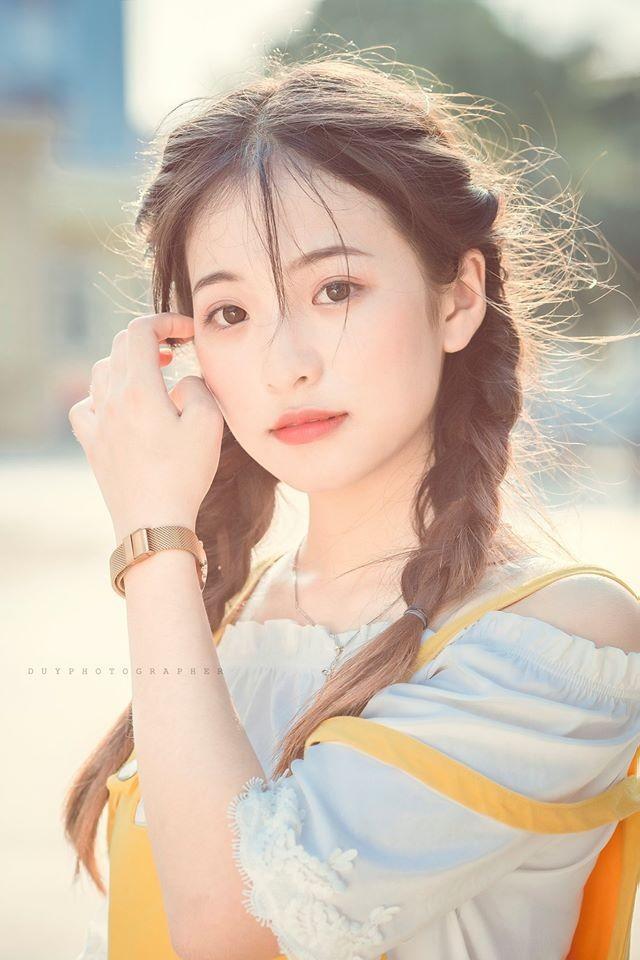 Vẻ đẹp 'thanh xuân vườn trường' trong trẻo của cô bạn Thái Nguyên - ảnh 2