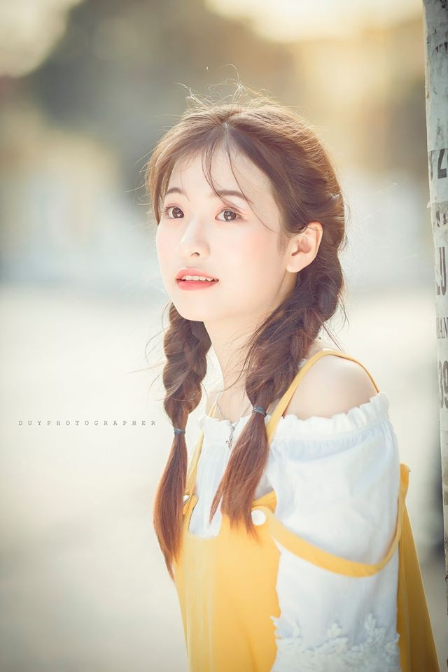 Vẻ đẹp 'thanh xuân vườn trường' trong trẻo của cô bạn Thái Nguyên - ảnh 3