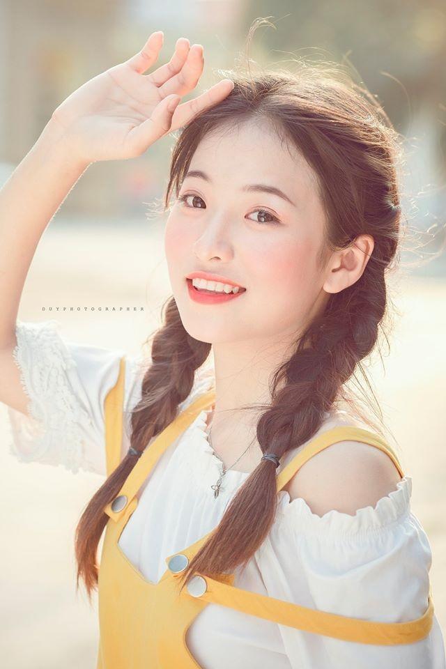 Vẻ đẹp 'thanh xuân vườn trường' trong trẻo của cô bạn Thái Nguyên - ảnh 5