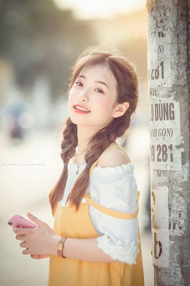 Vẻ đẹp 'thanh xuân vườn trường' trong trẻo của cô bạn Thái Nguyên - ảnh 4