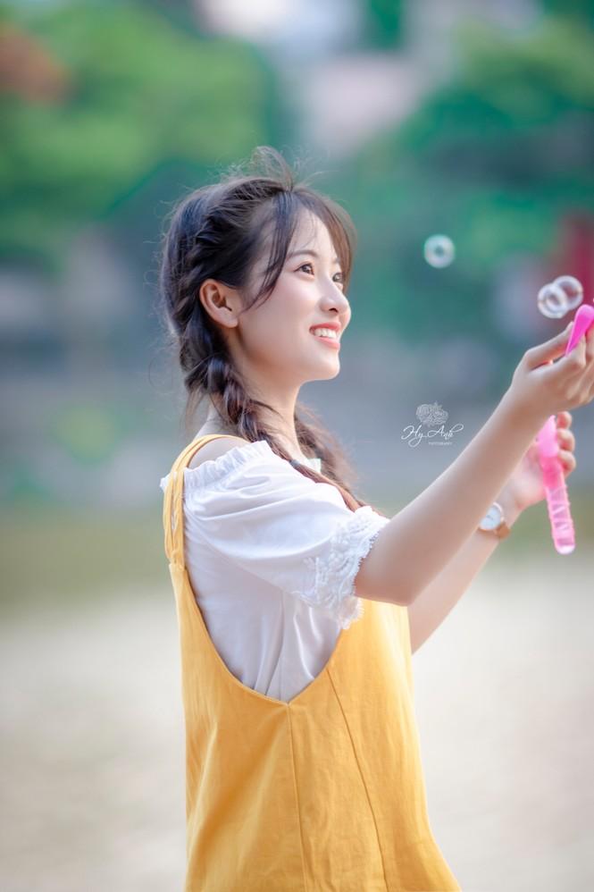 Vẻ đẹp 'thanh xuân vườn trường' trong trẻo của cô bạn Thái Nguyên - ảnh 6