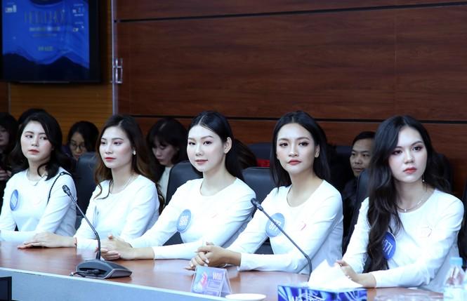 41 thí sinh khoe sắc đua tài chung kết Hoa khôi Sinh viên Việt Nam - ảnh 3
