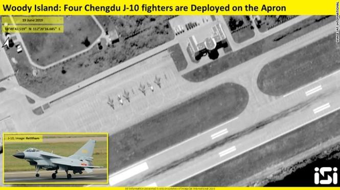CNN: Trung Quốc đưa tiêm kích J-10 ra Hoàng Sa - ảnh 1