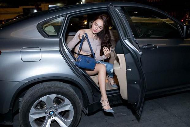 Hương Giang khoe xế hộp sang trọng mới tậu, bổ sung chiếc thứ 4 vào bộ sưu tập xe hơi tiền tỷ - Ảnh 4.