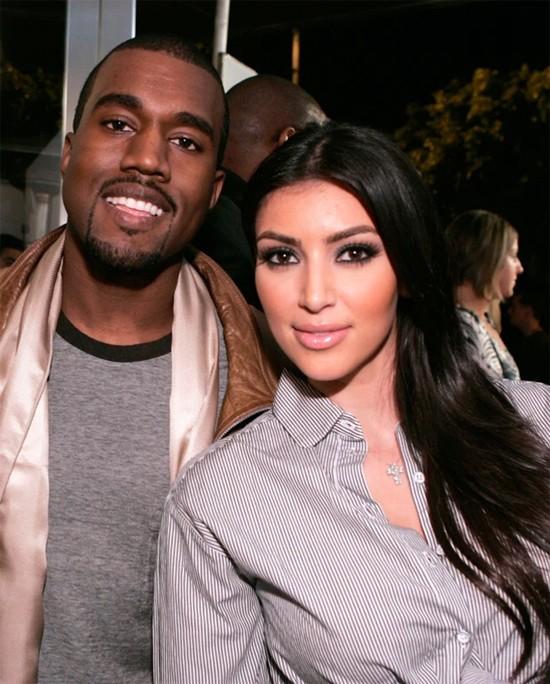 Kim và Kanye khi vẫn là bạn.