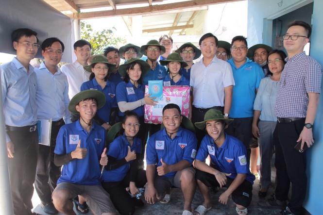 20 chiến sĩ tình nguyện tại huyện đảo Phú Quý, Bình Thuận - ảnh 3