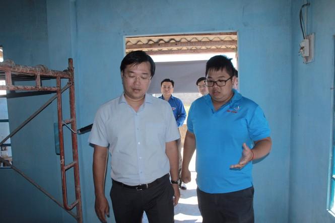 20 chiến sĩ tình nguyện tại huyện đảo Phú Quý, Bình Thuận - ảnh 1