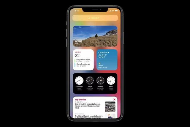 iOS 14 trình làng với giao diện hoàn toàn mới - Ảnh 2.